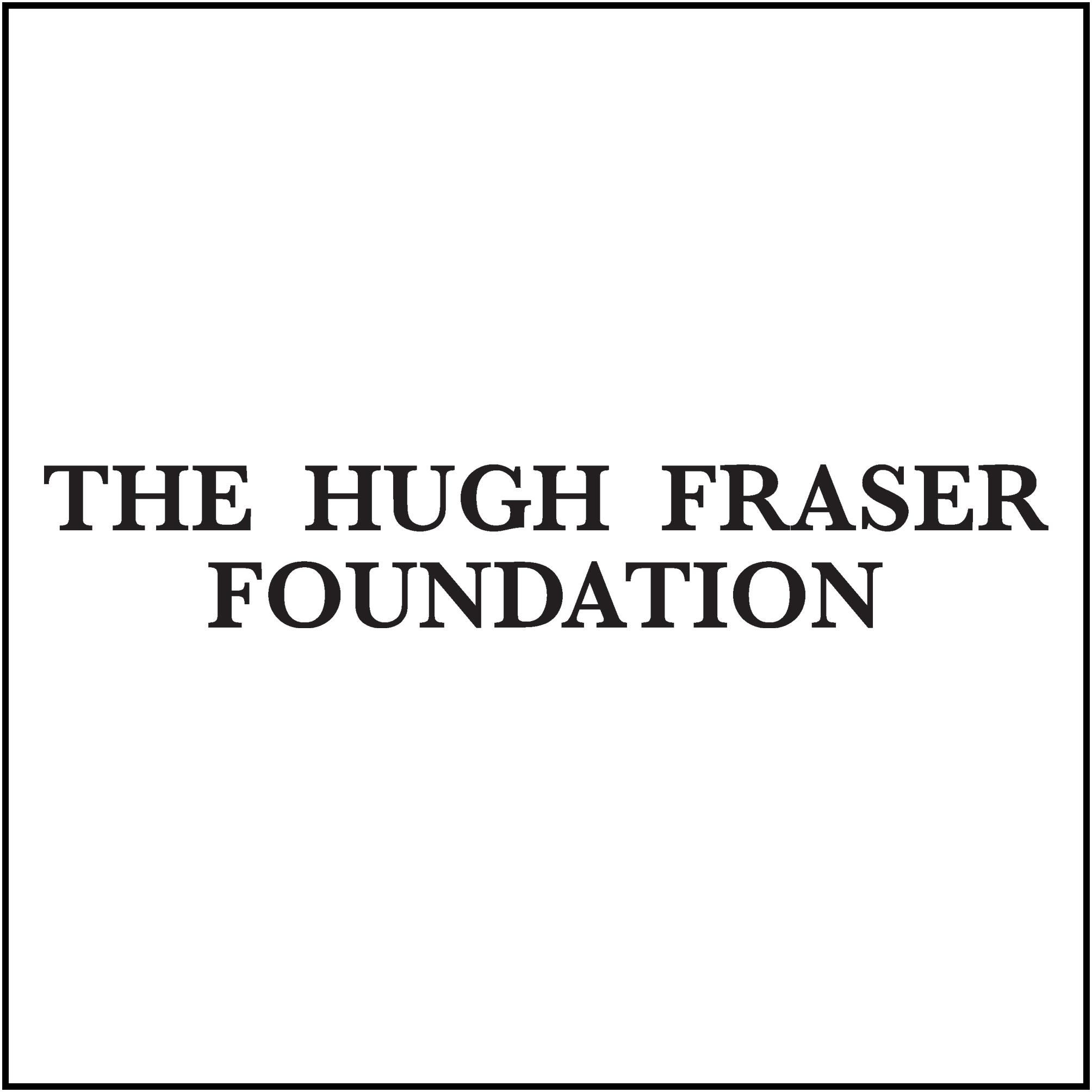 Hugh Fraser Foundation logo